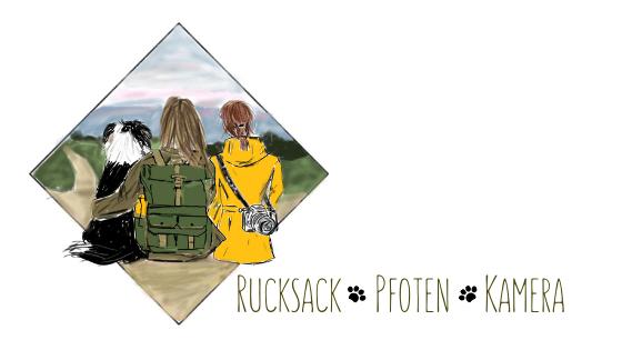 Rucksack ‧ Pfoten ‧ Kamera