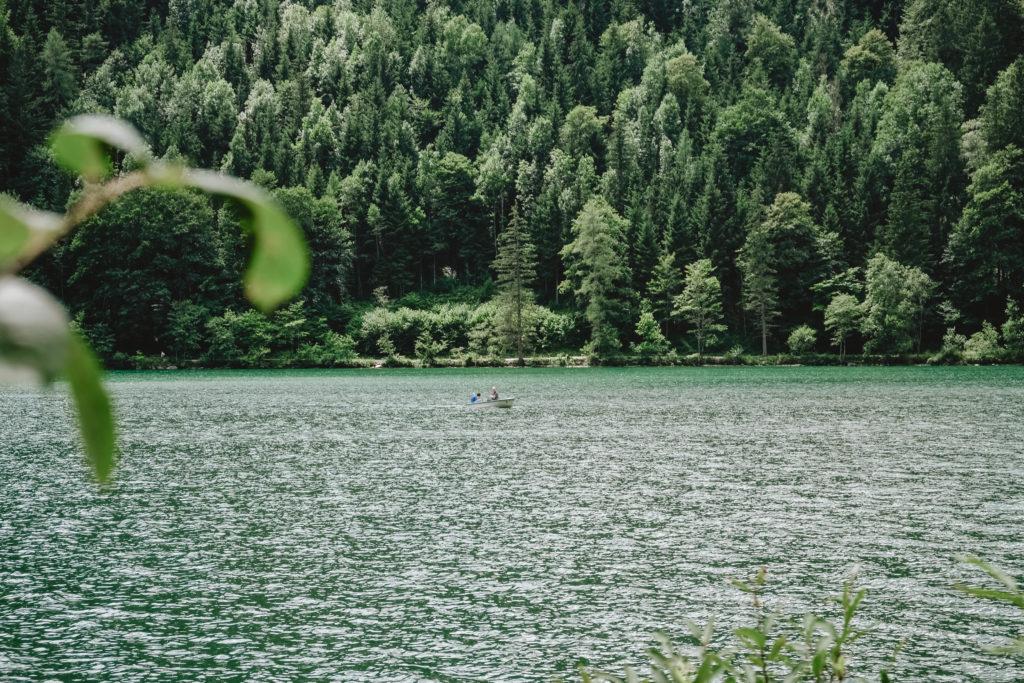 Bootfahren am Leopoldsteinersee