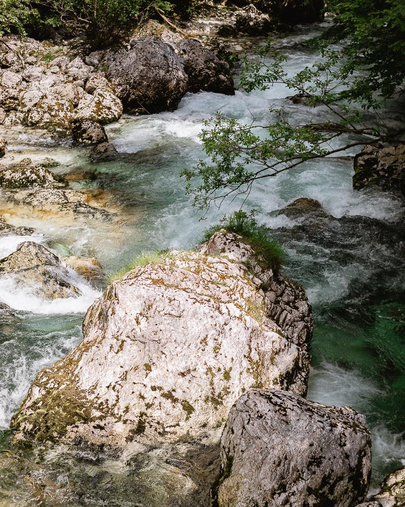 Wandern Savica Wasserfall
