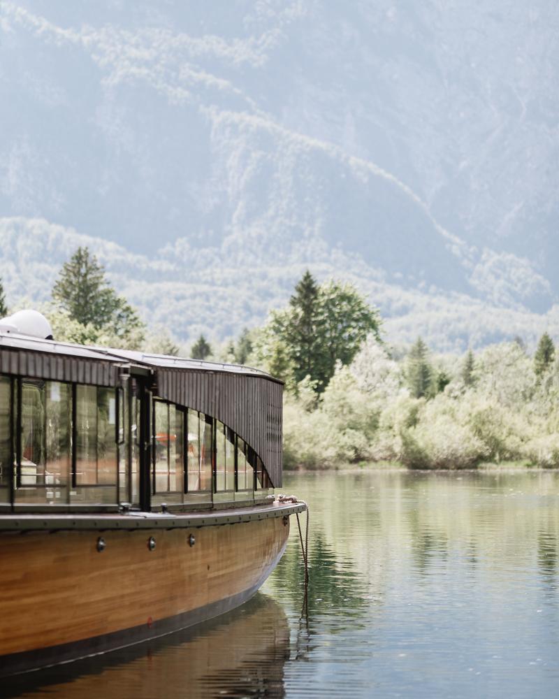 Bootfahren am Bohinjer See