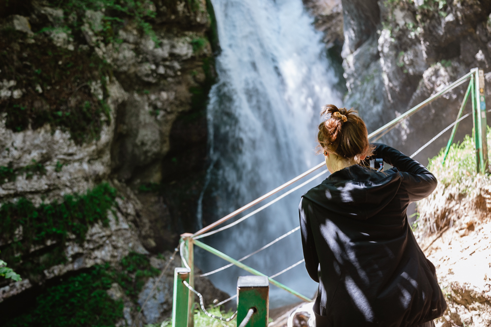 Mostnica Wasserfall