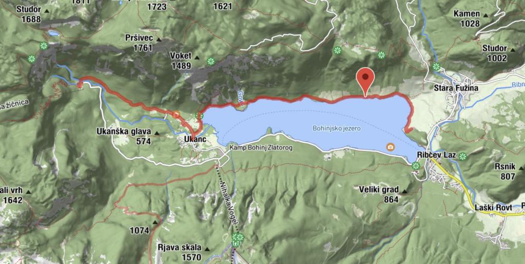 Wandern am Bohinjer See